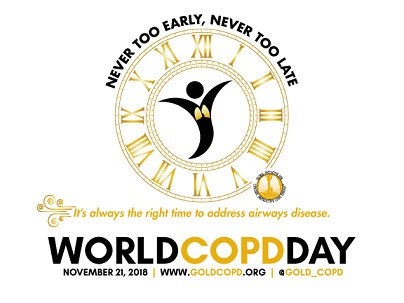 Welt-COPD-Day – 21. November 2018
